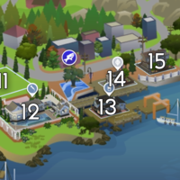 The Sims 4: Brindleton Bay world neighbourhood #3
