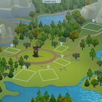 The Sims 4: Granite Falls world (empty)