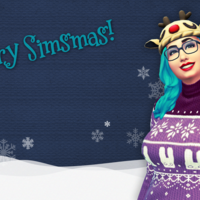 Merry Simsmas 2015 Christmas wallpaper