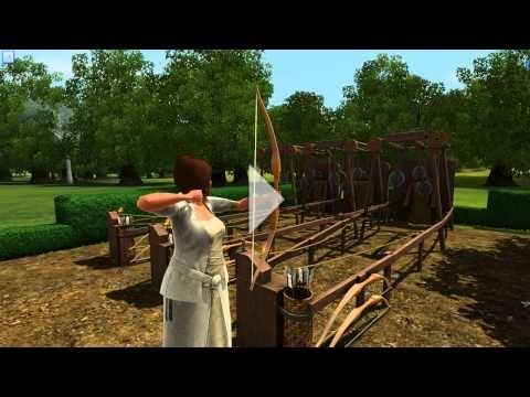 The Sims 3: The Duke of Bows Renaissance Faire - Archery #1