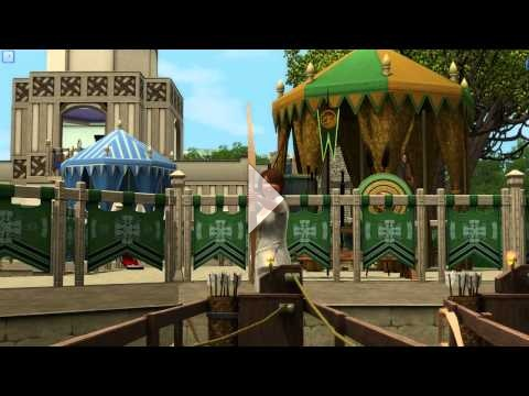 The Sims 3: The Duke of Bows Renaissance Faire - Archery #3
