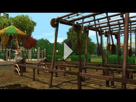 The Sims 3: The Duke of Bows Renaissance Faire - Archery #4