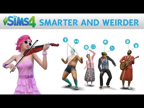 The Sims 4 | Smarter and Weirder Official Gameplay Trailer