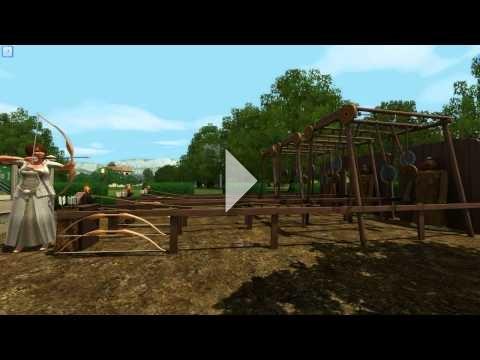 The Sims 3: The Duke of Bows Renaissance Faire - Archery #2