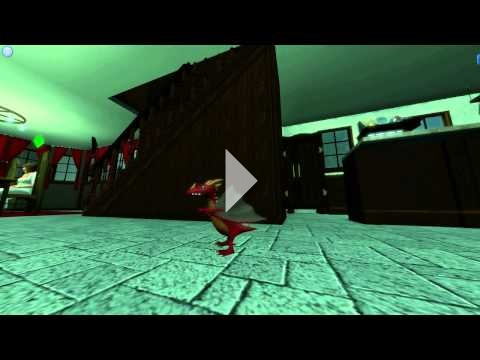 The Sims 3 Dragon Valley - Red Dragon #2