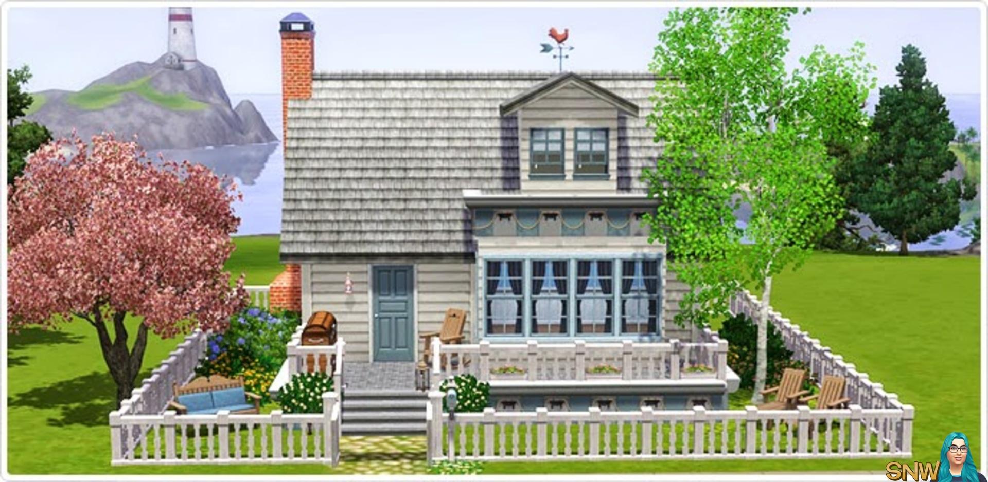 Nautische Woonkamerset in De Sims 3 Store!  SNW  SimsNetwerk.com