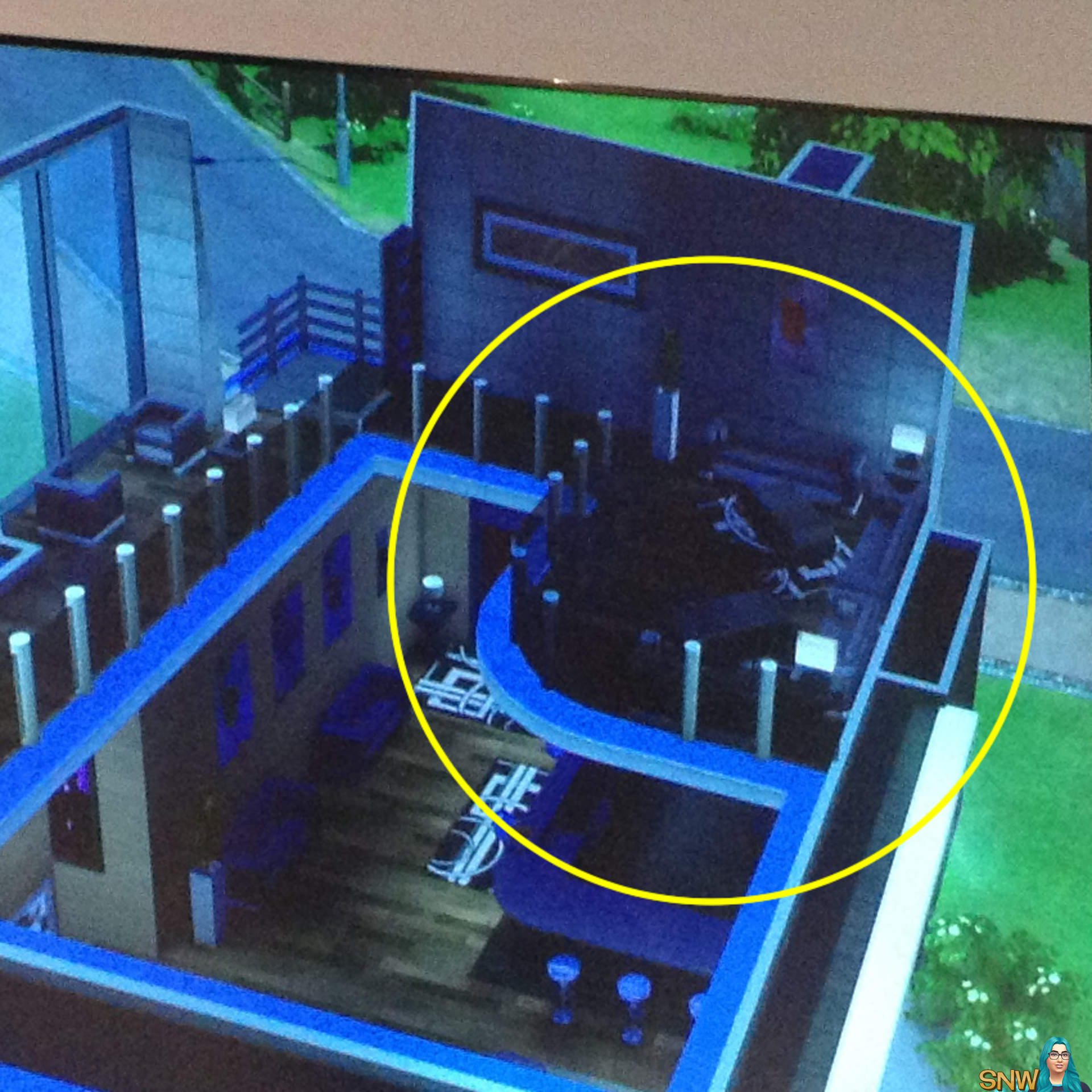 Build A Round Deck Sims