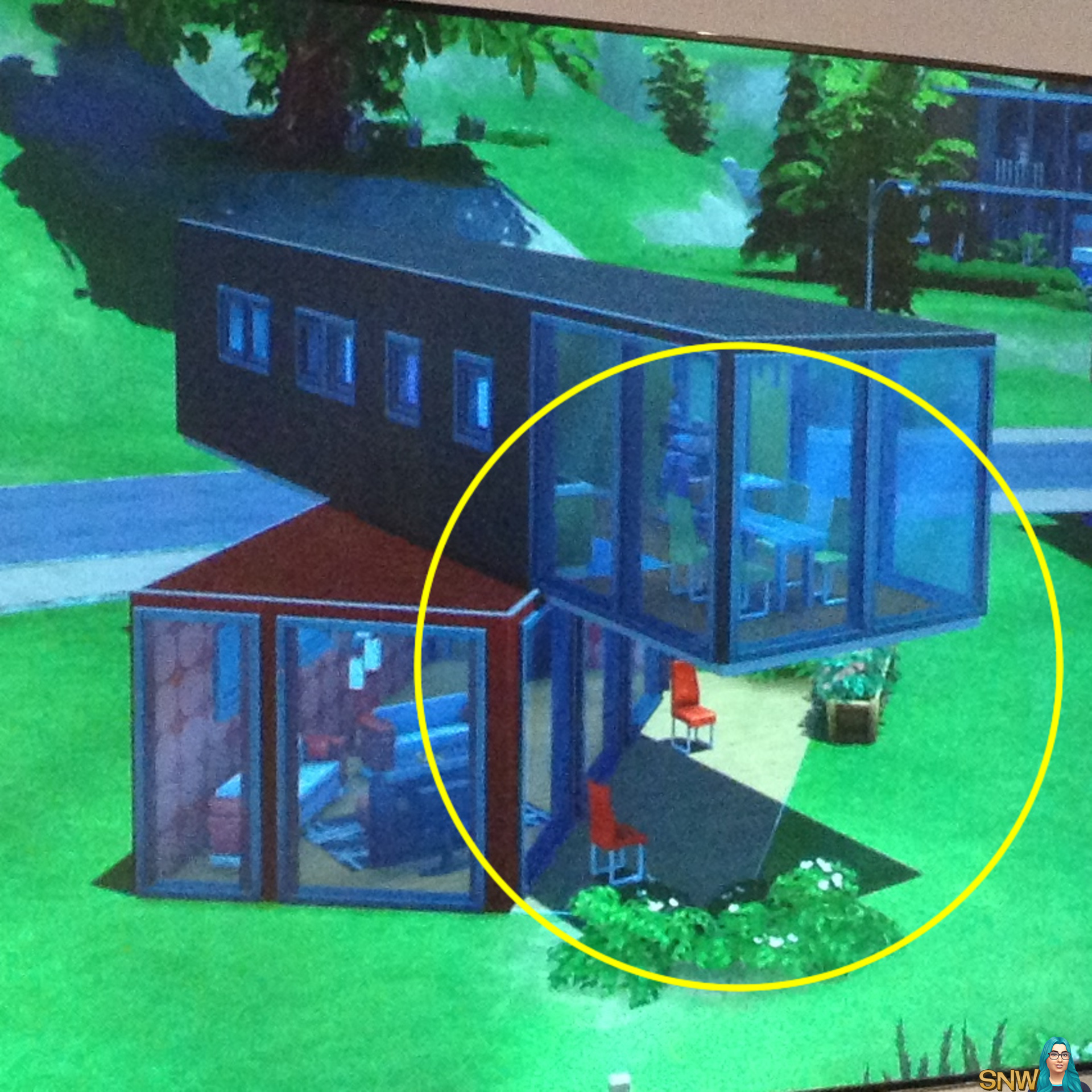 Sims camp de sims 4 bouwmodus snw - Lay outs rond het huis ...