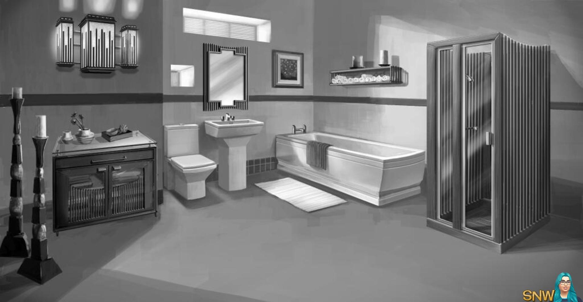 De Sims 3: Slaap- en Badkamer Accessoires - Nieuws | SNW ...
