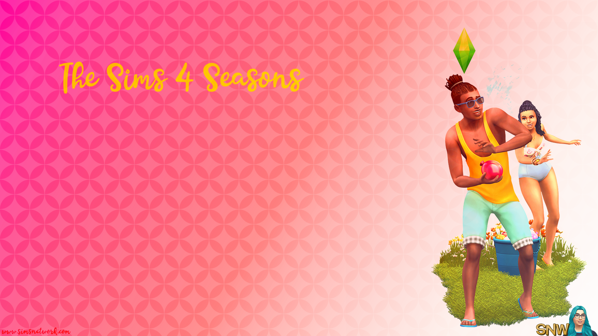 The Sims 4: Seasons wallpaper