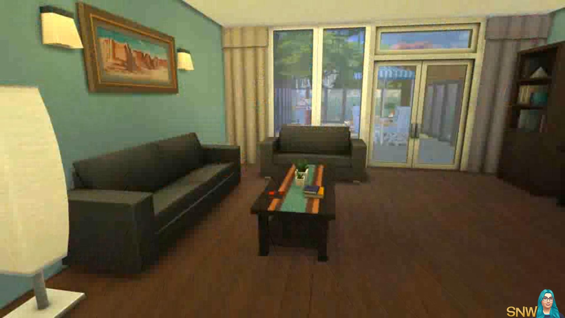 Mijn Real Life Huis In De Sims 4 Snw