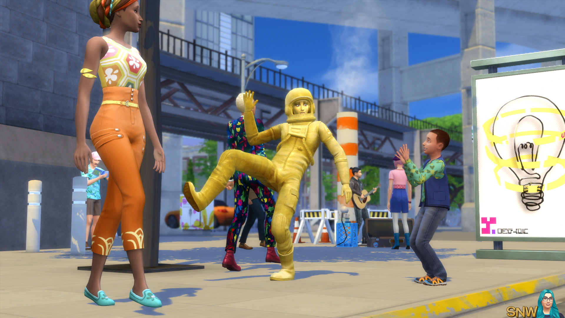 The Sims 4: City Living screenshot