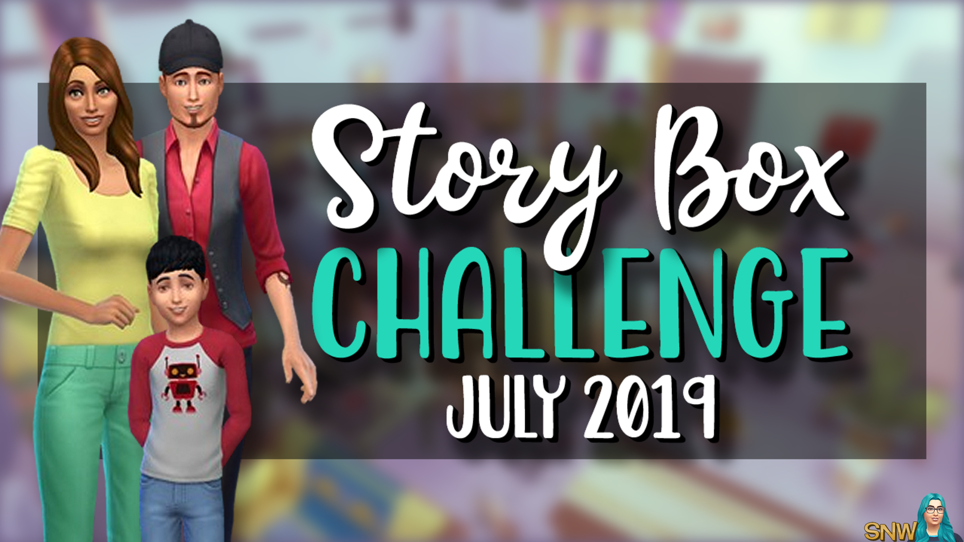 SNW Story Box 0719 July Challenge