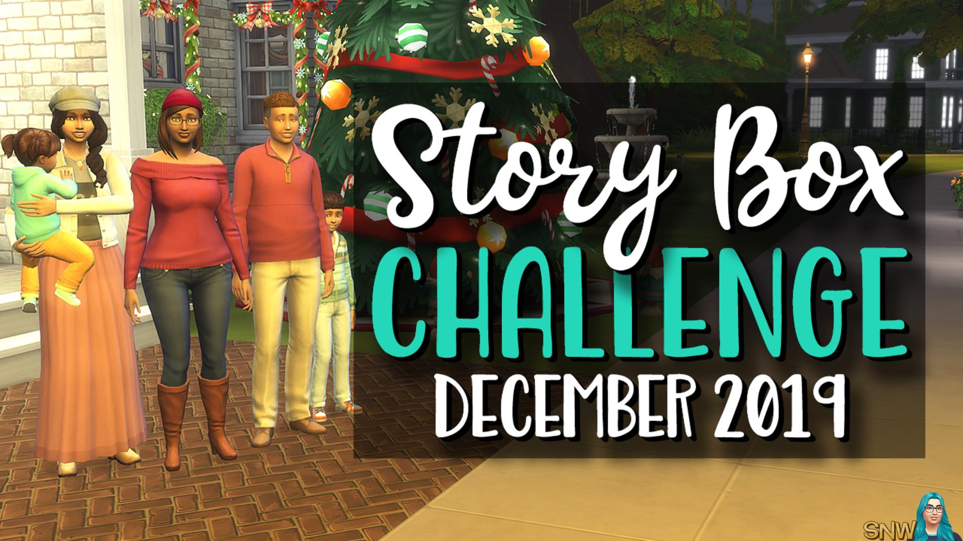 StoryBox Challenge December 2019