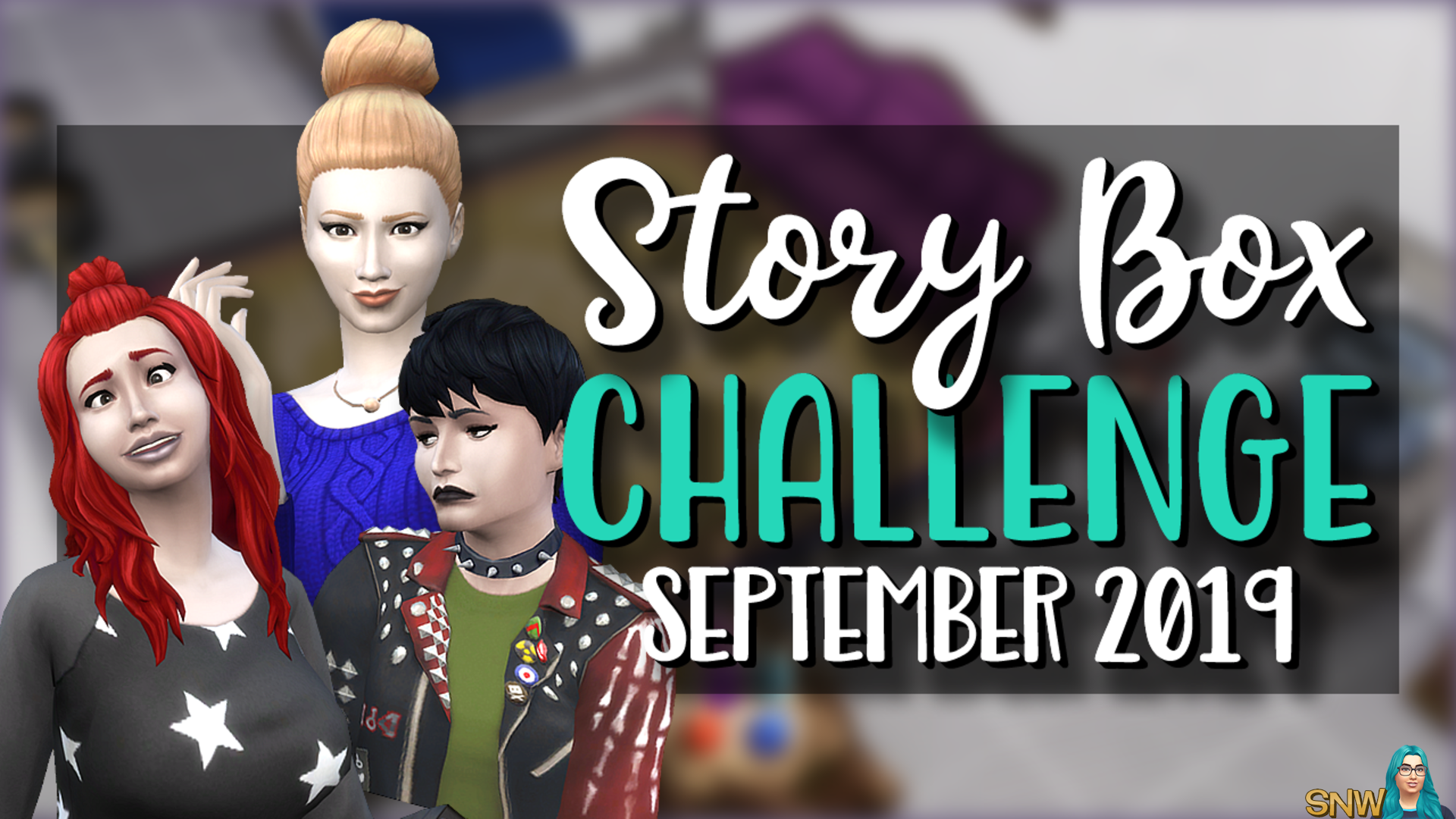 SNW Story Box 0919 September 2019 Challenge