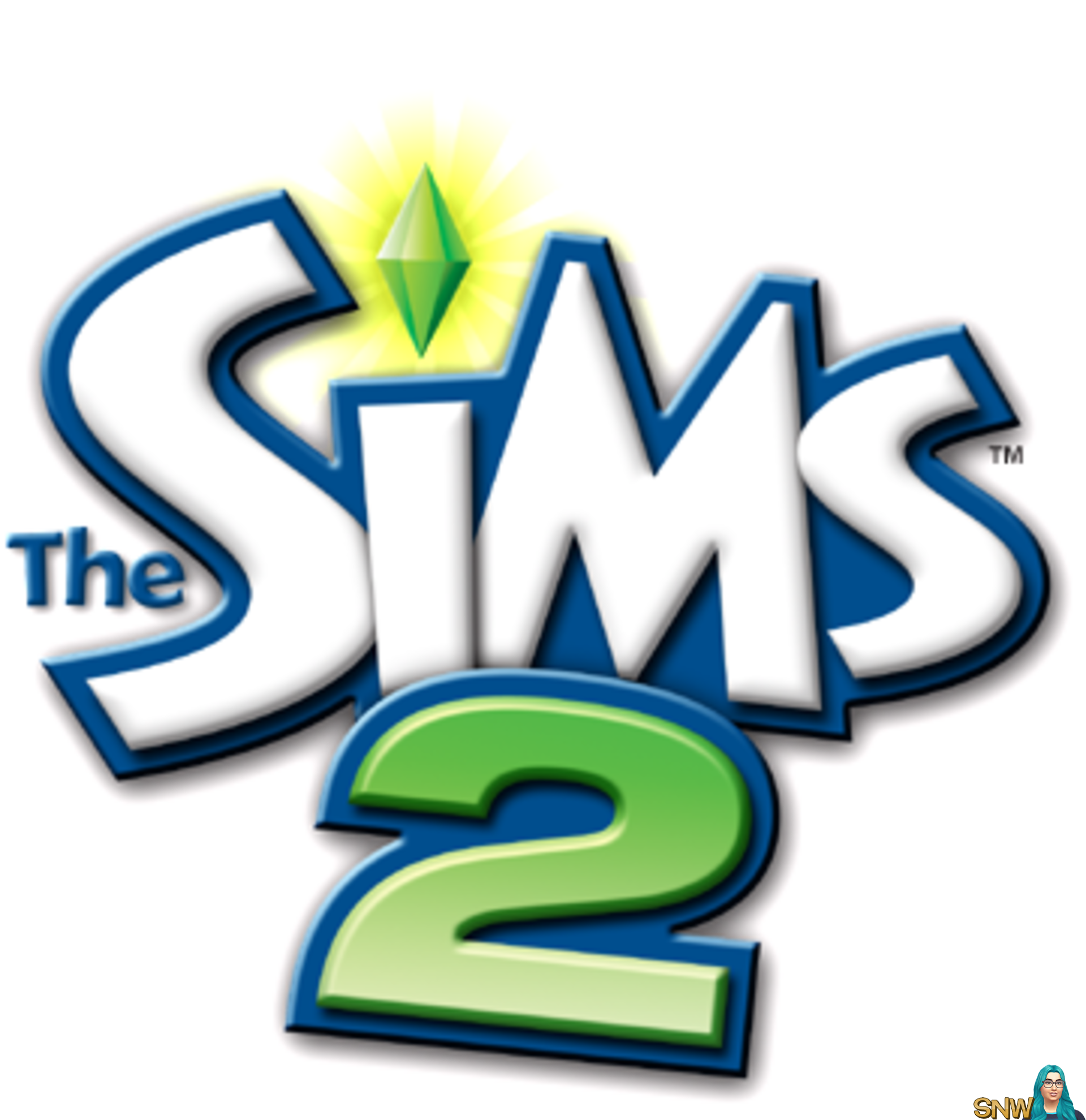 The Sims 2 logo