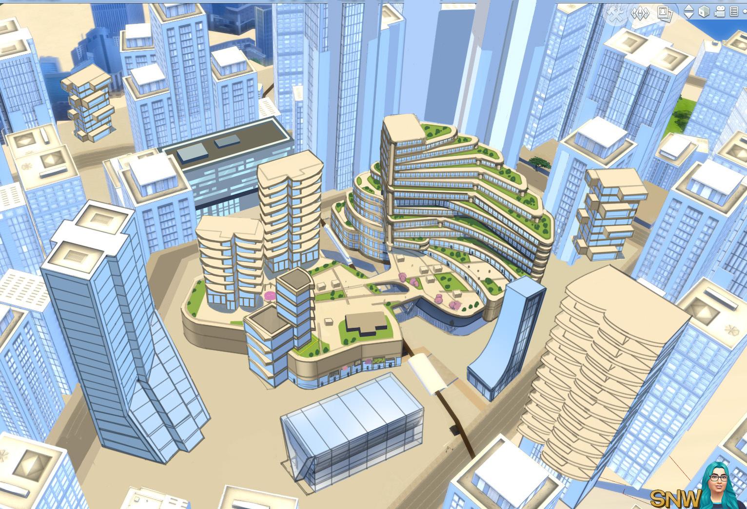 The Sims 4: City Living screenshot concept art Fashion District