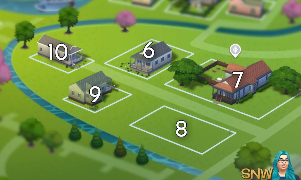 The Sims 4: Willow Creek world neighbourhood #2