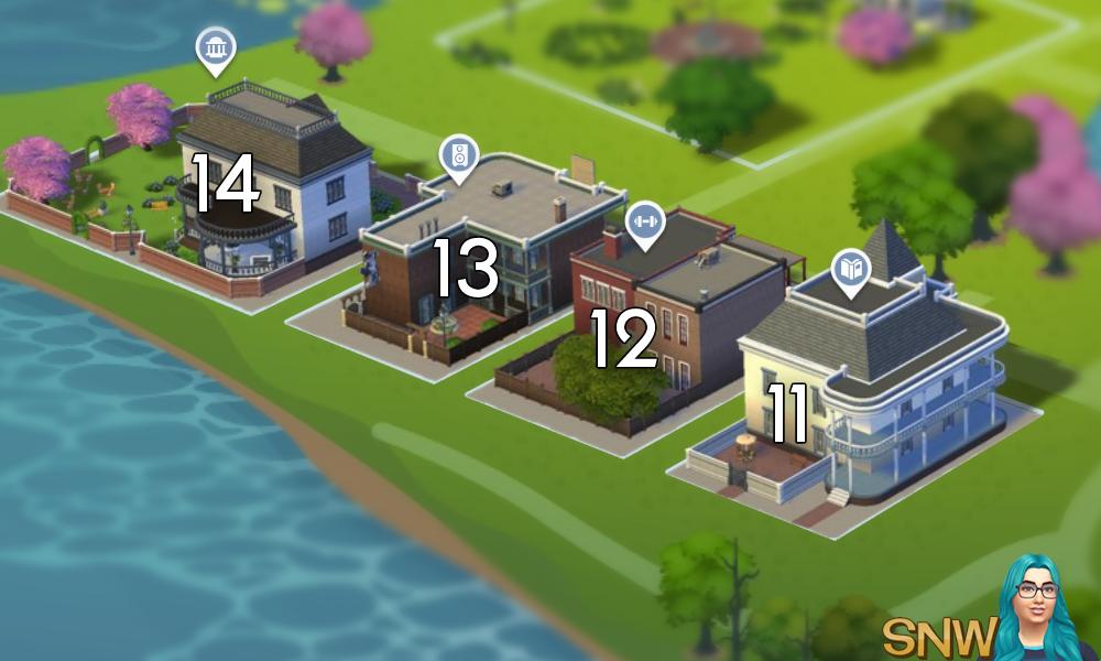 The Sims 4: Willow Creek world neighbourhood #3