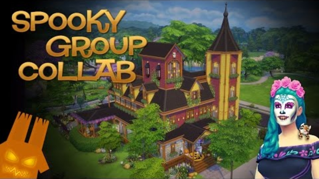 🎃 Spooky Group Collab: Spooky & Cute Victorian Speedbuild 🎃